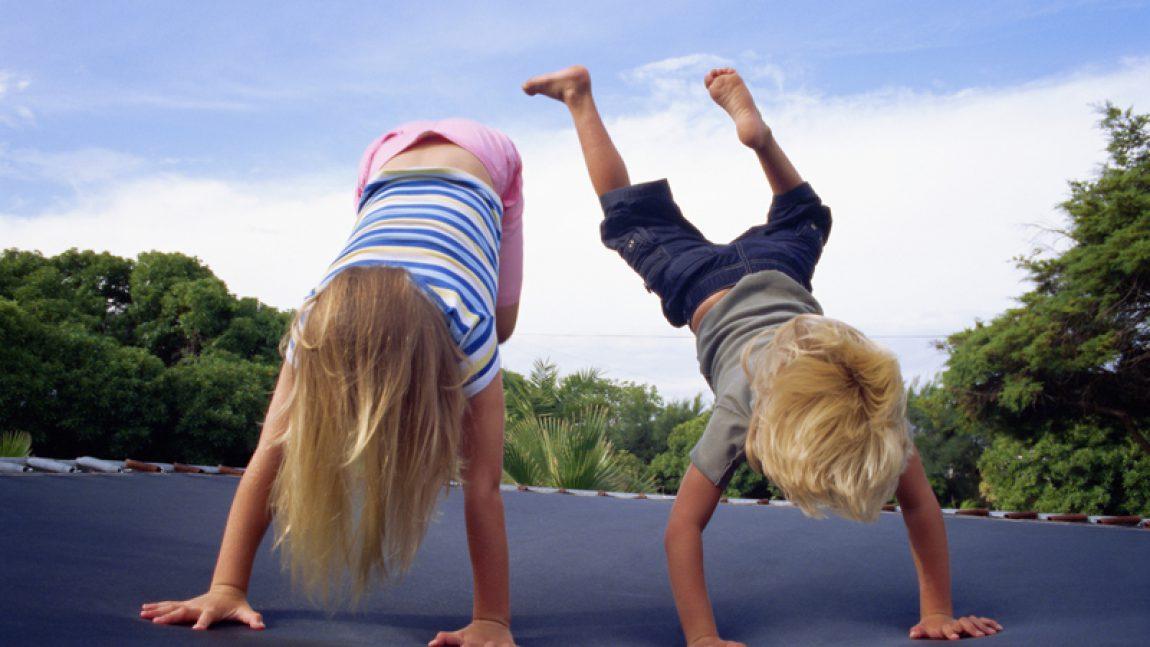 Как заинтересовать маленького домоседа физкультурой?