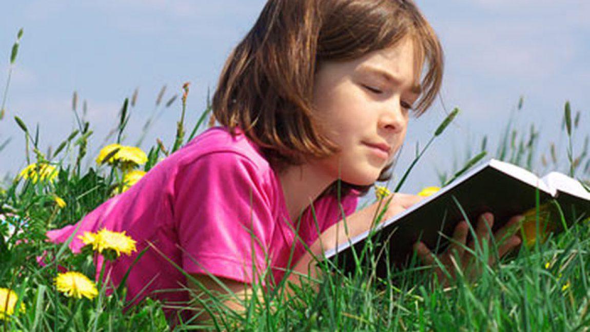 Предложите своему ребёнку почитать!