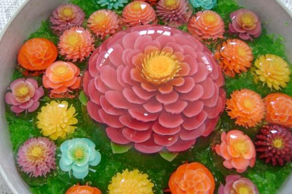 Как украсить торт из желе
