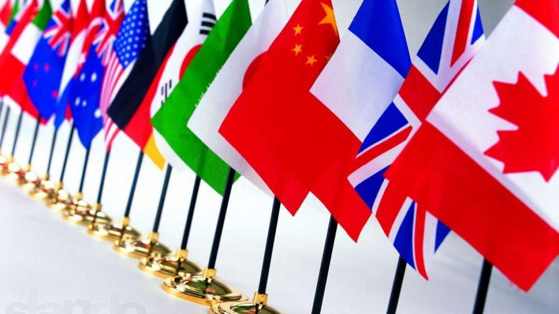 Знакомимся с флагами разных стран