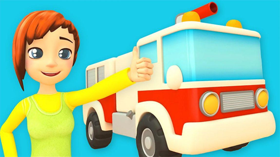 Скорее на уроки в сериале «Машина автошкола»!