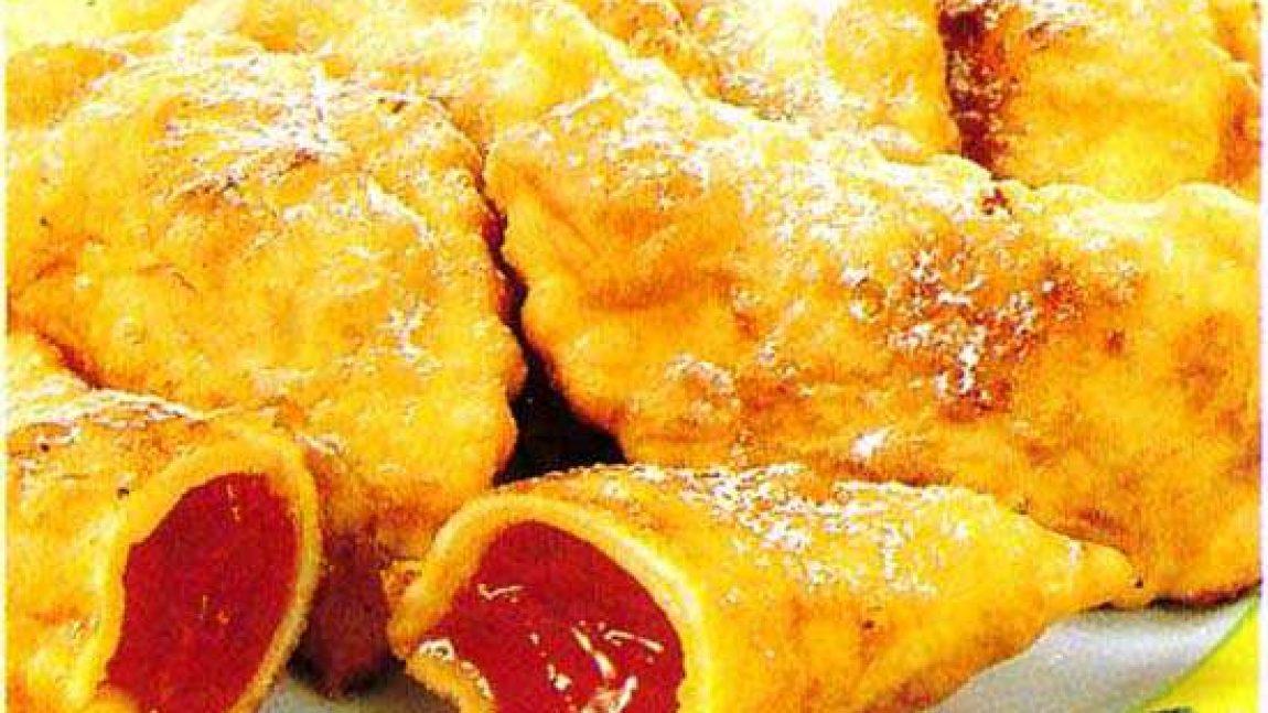 Творожные пирожки во фритюре
