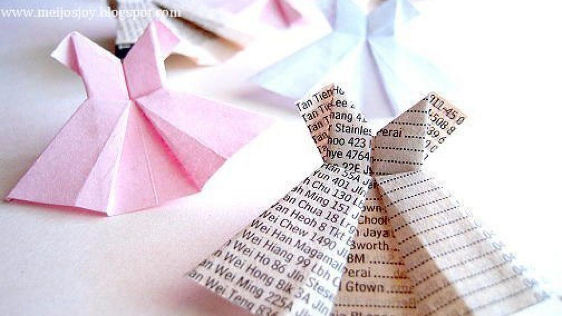 Платье-оригами