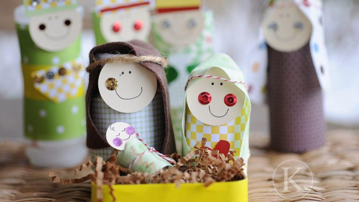 Рождественский вертеп для малышей