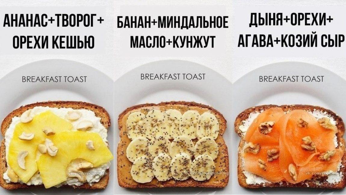 Бутербродный завтрак