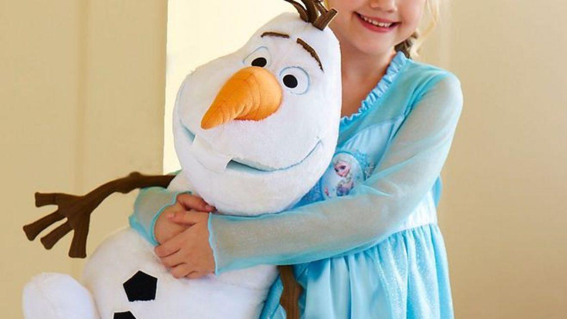 Снеговик Олаф своими руками