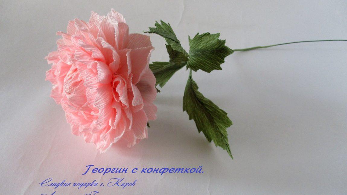 Букет с конфетными цветами