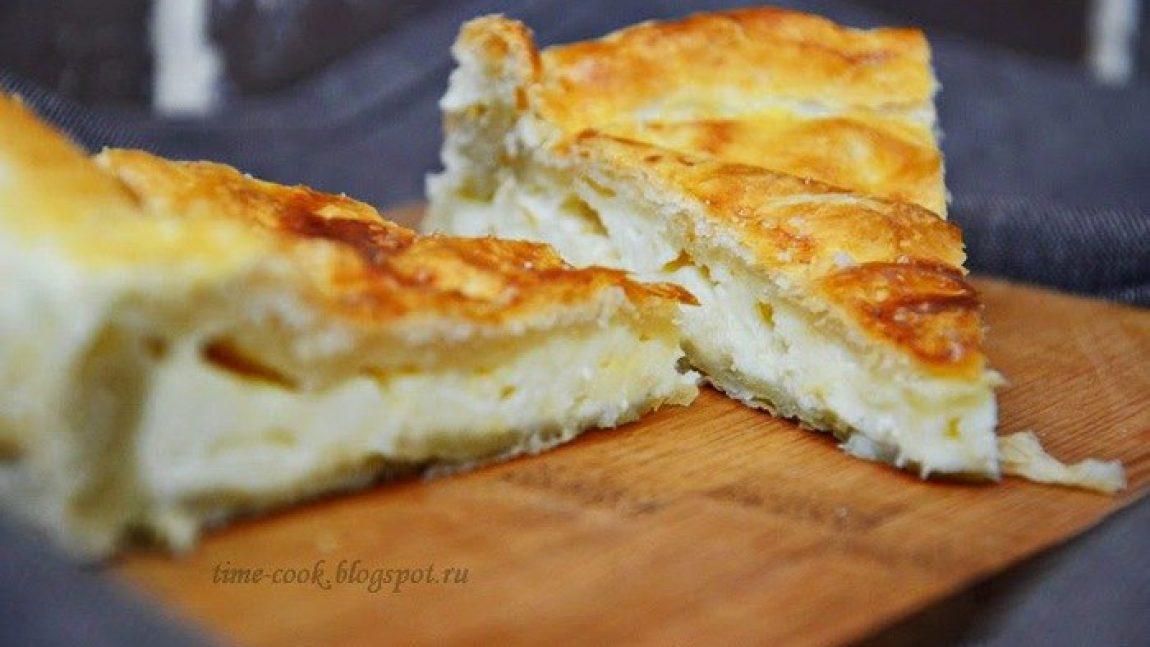 Сырный пирог для завтрака