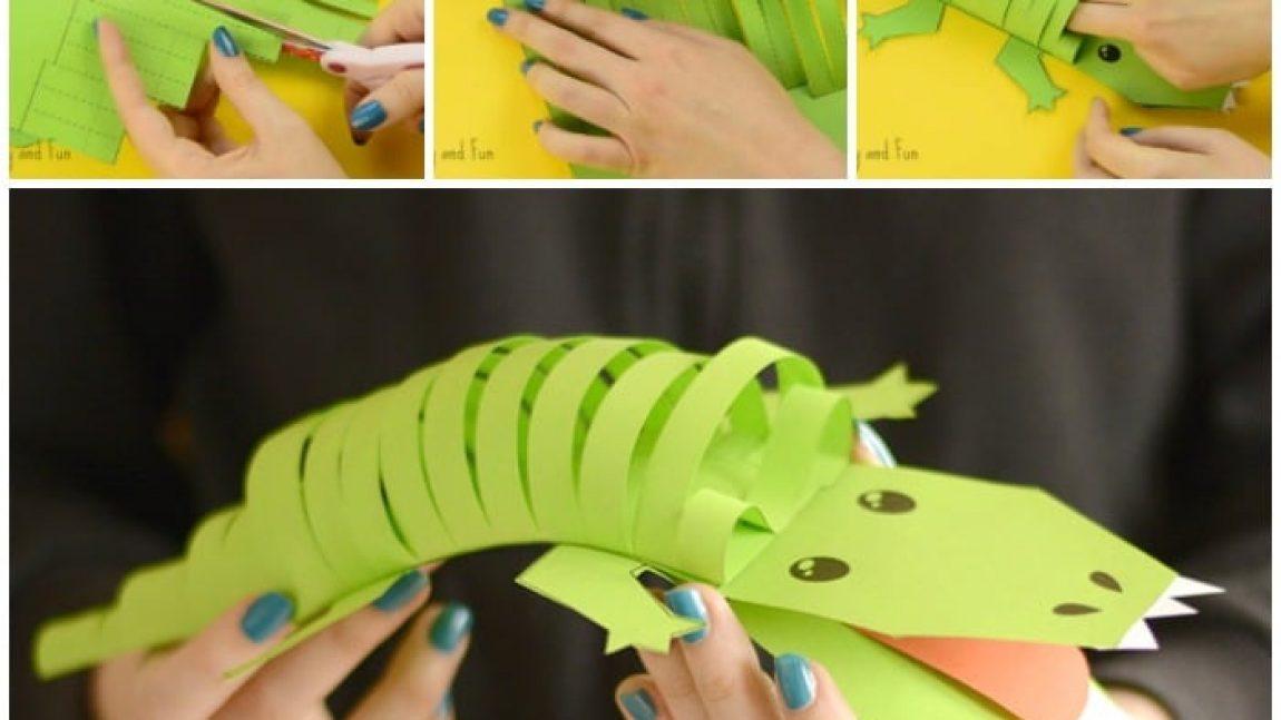 Весёлый крокодил