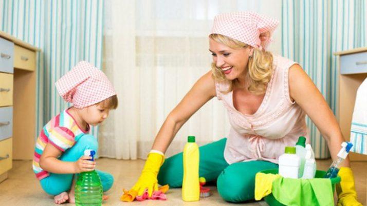 Приобщаем детей к домашнему труду!