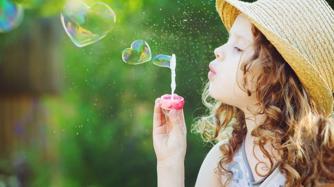 Развиваемся играя. Прочные мыльные пузыри