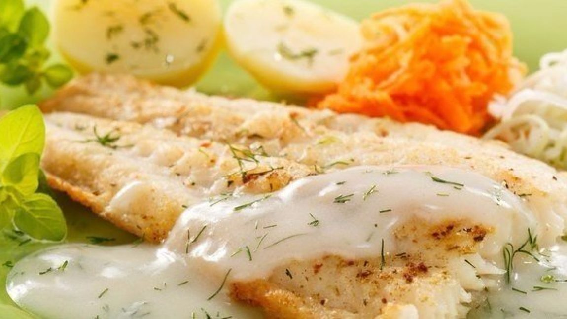 Рыба «по-французски» на ужин