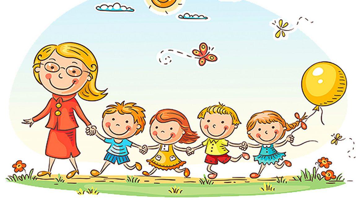 Весёлые стихи с правилами поведения в детском саду