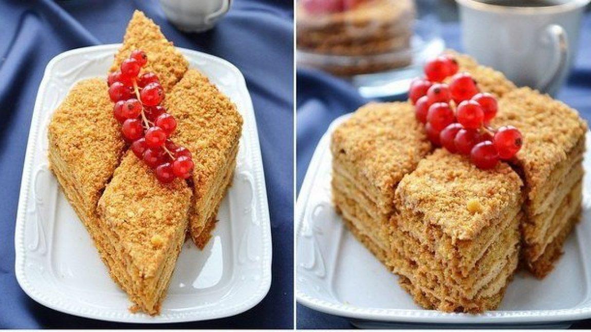 Торт «Медовик» — нежный и вкусный