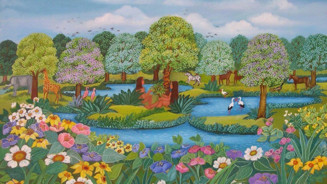Смотрим мультфильм про Эдемский сад