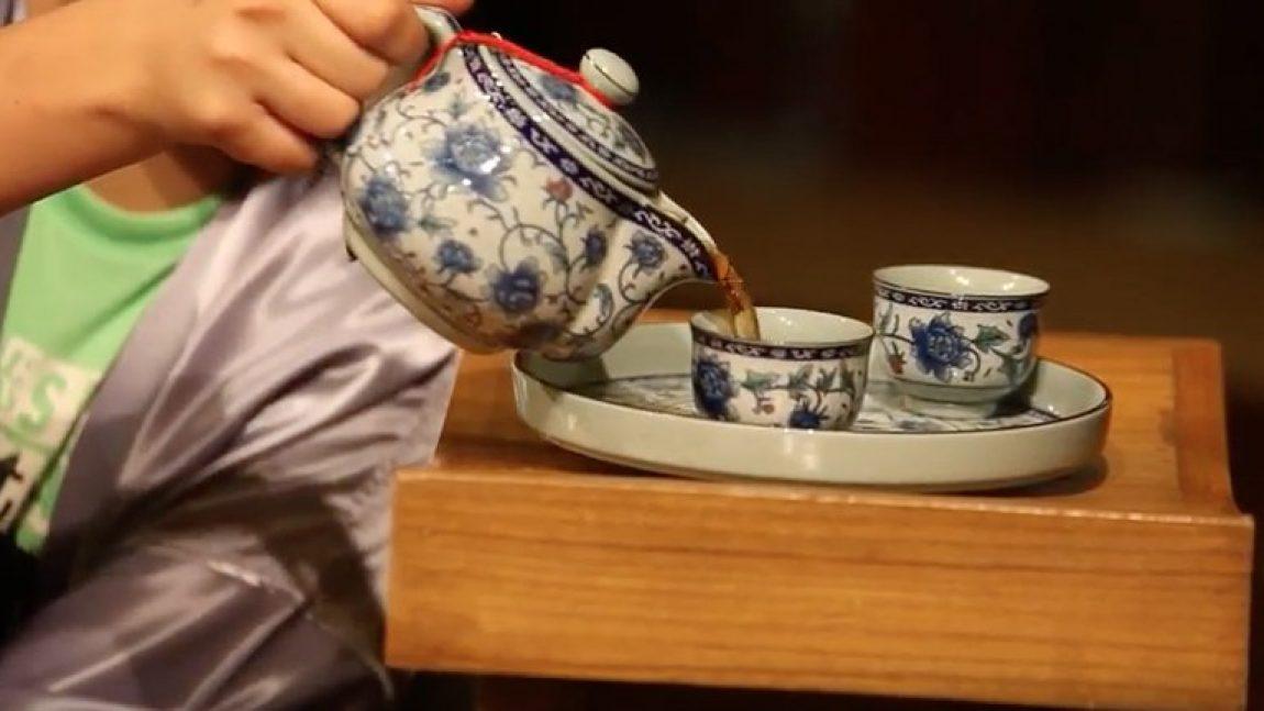 Чайная церемония на телеканале «Смайлик»