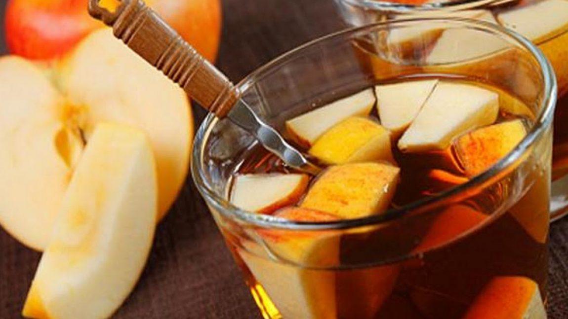 Готовим яблочный чай