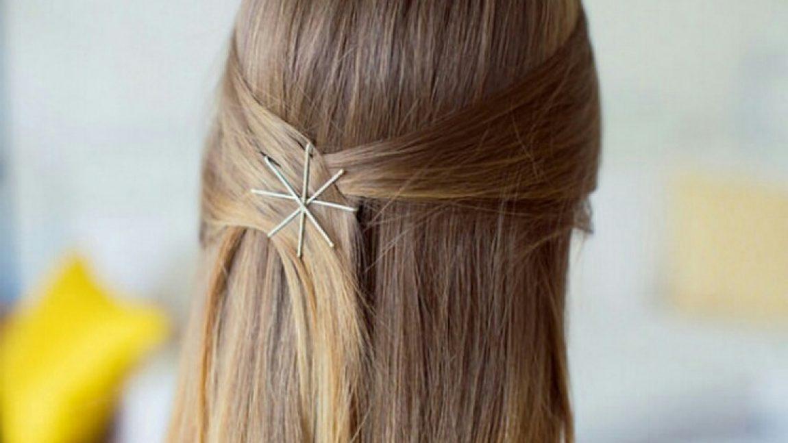 Идеи для причёсок с невидимками