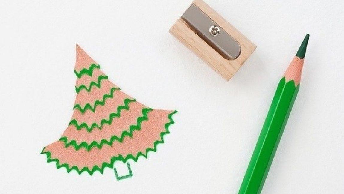 Супер-идея картин из карандашных стружек!