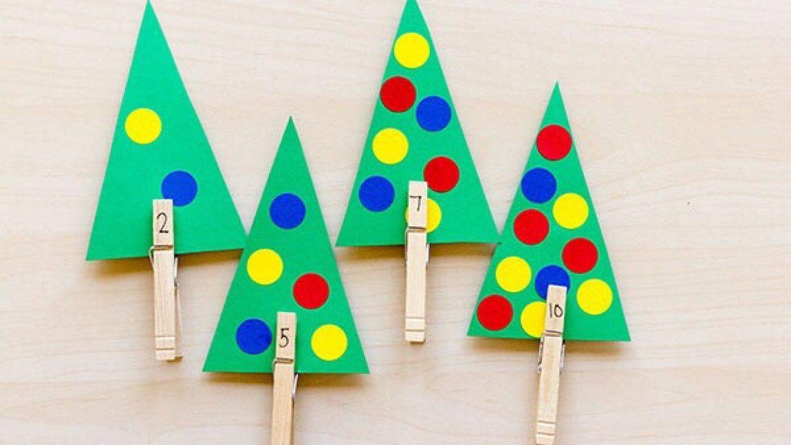 Закрепляем навыки счёта по-новогоднему!