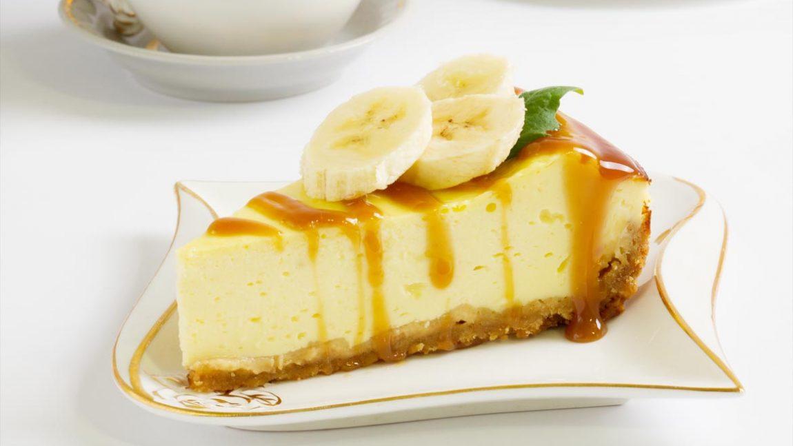 Паровой творожно-банановый пудинг