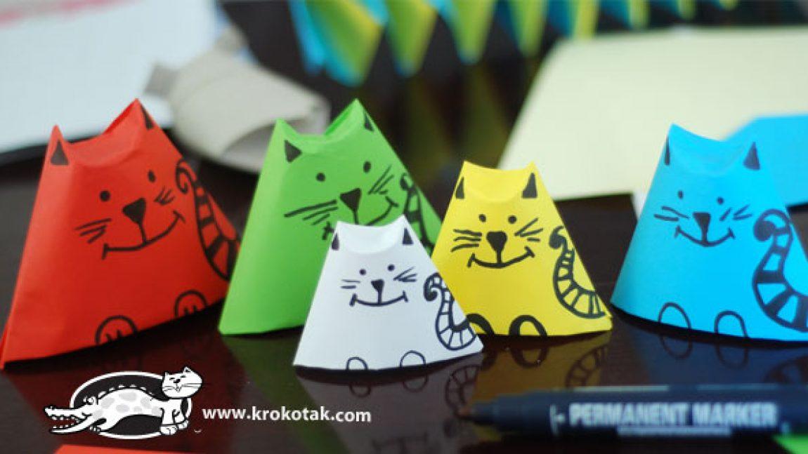 Семейство развивающих котиков