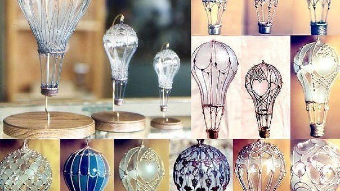 Воздушный шар из… лампочки