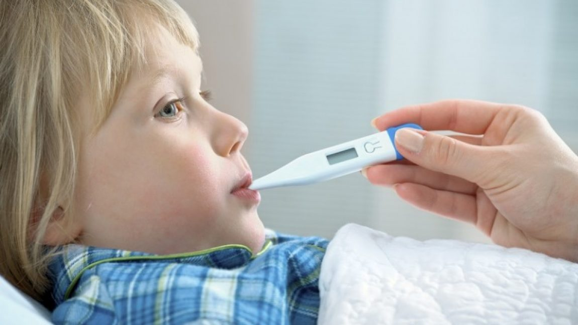 Высокая температура у ребёнка. Что делать?