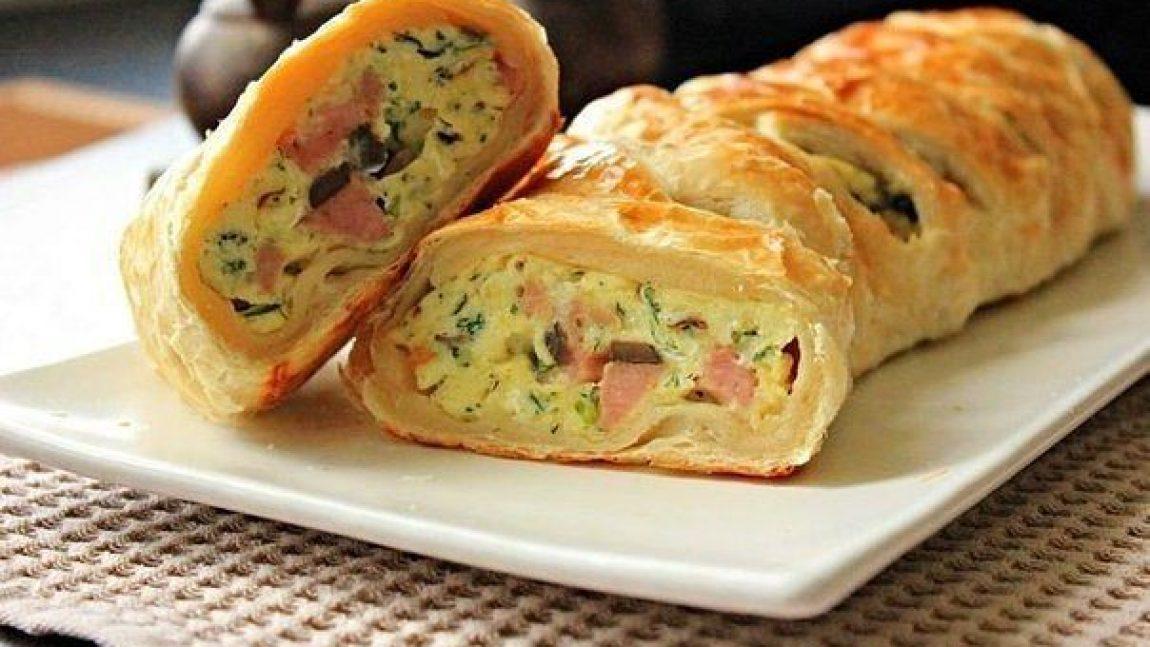 Вкусный завтрак: яичница в тесте