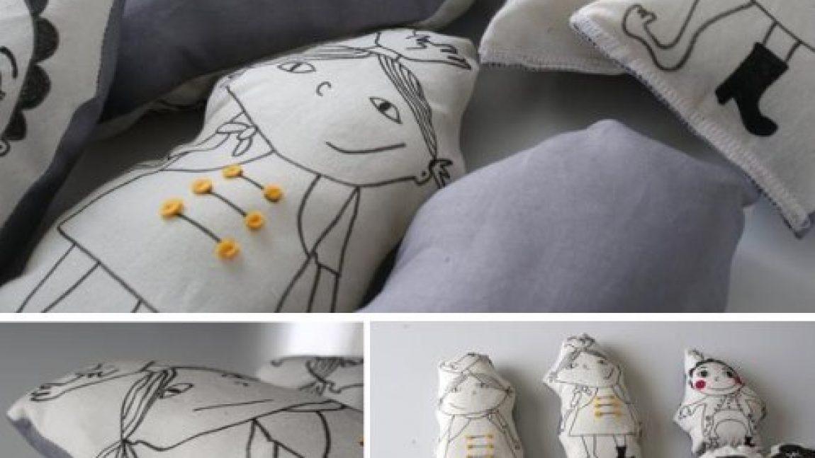 Рисованные куклы