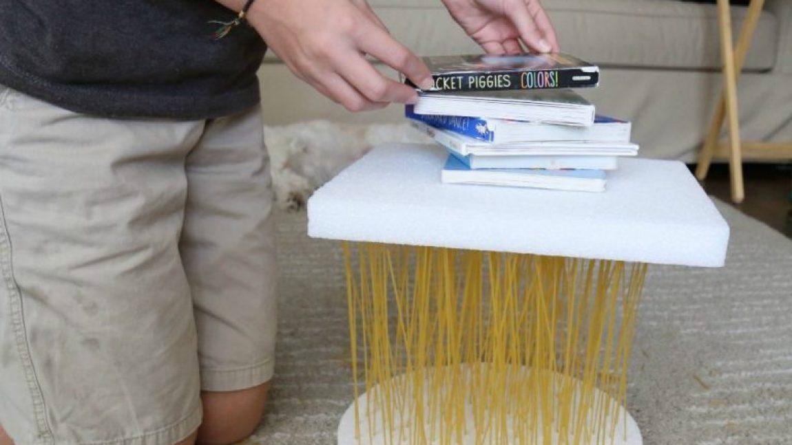 Инженерный эксперимент со спагетти