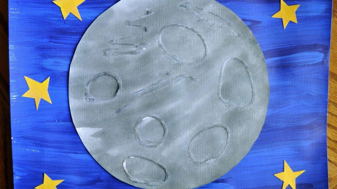 Рисуем Луну