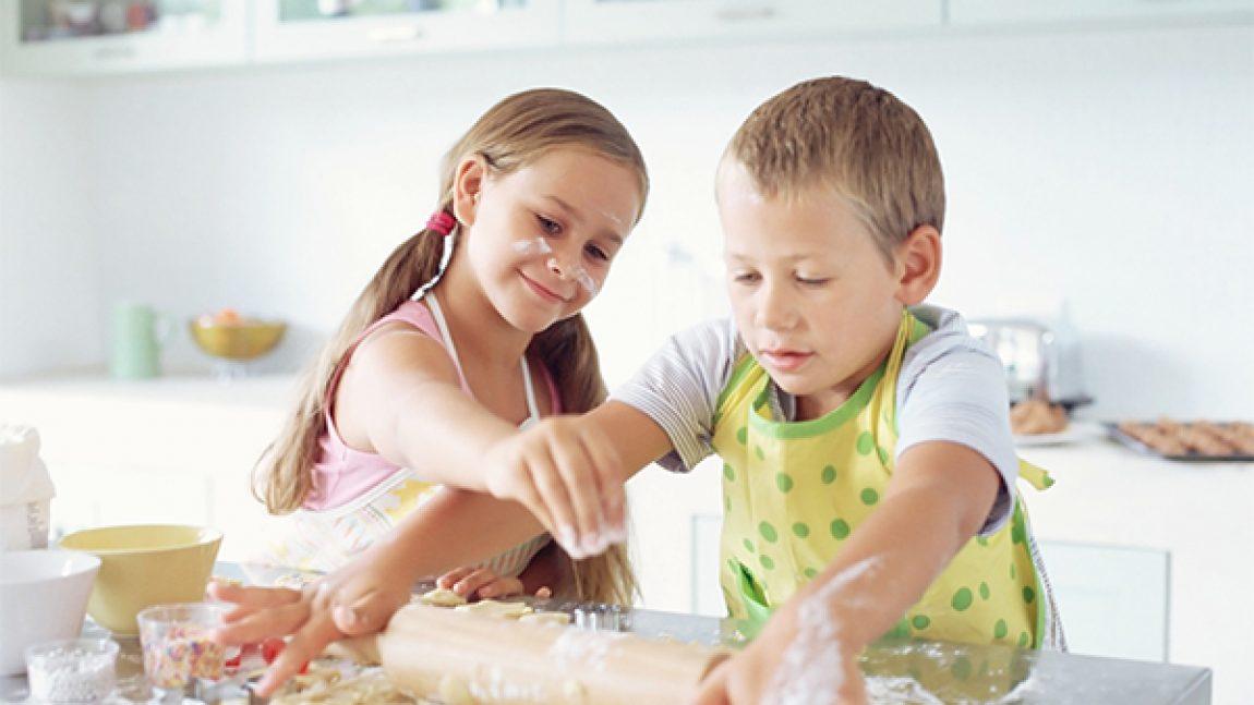 Два рецепта для опытных поварят (6-8 лет)