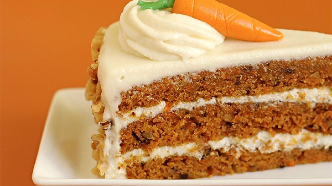 Морковно-овсяный торт
