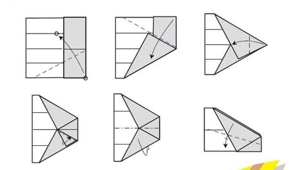Оригами – самолёт
