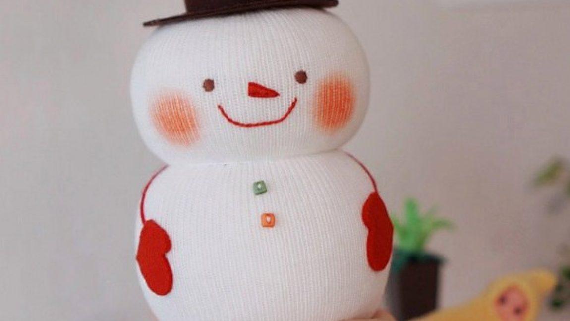 Снеговик – органайзер