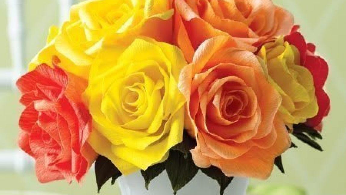 Розы из сердечек