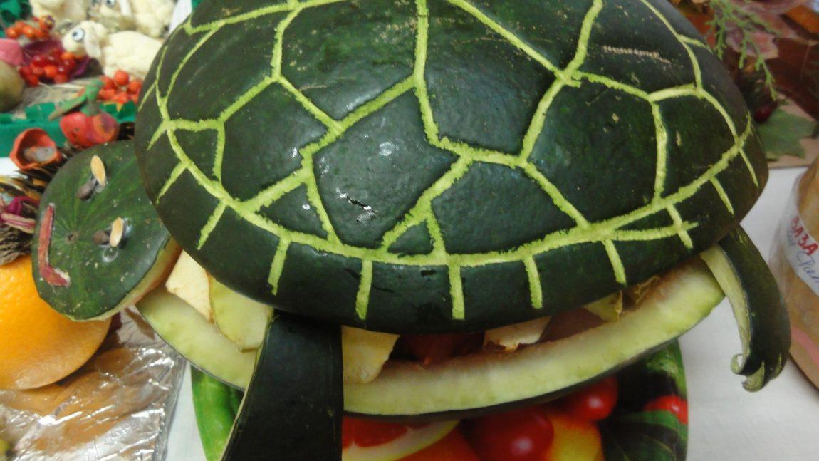 Поделки и овощей