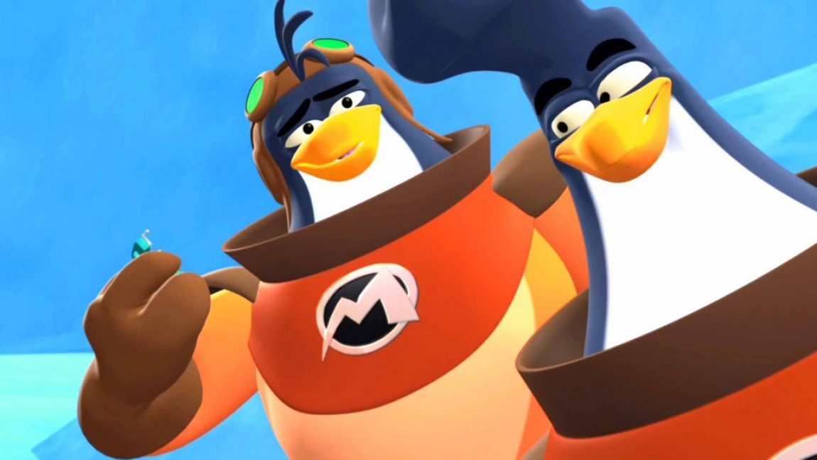 «3-2-1 Пингвины» отправляются в космос!