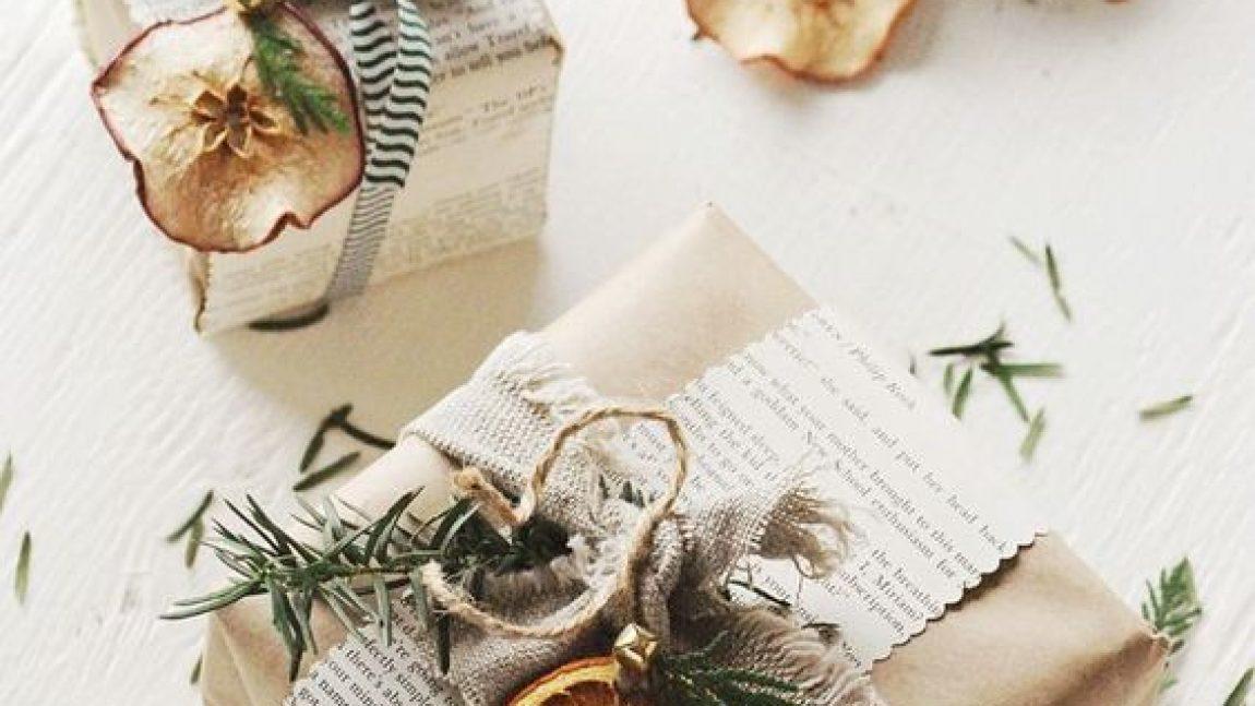 Новогоднее декорирование подарков