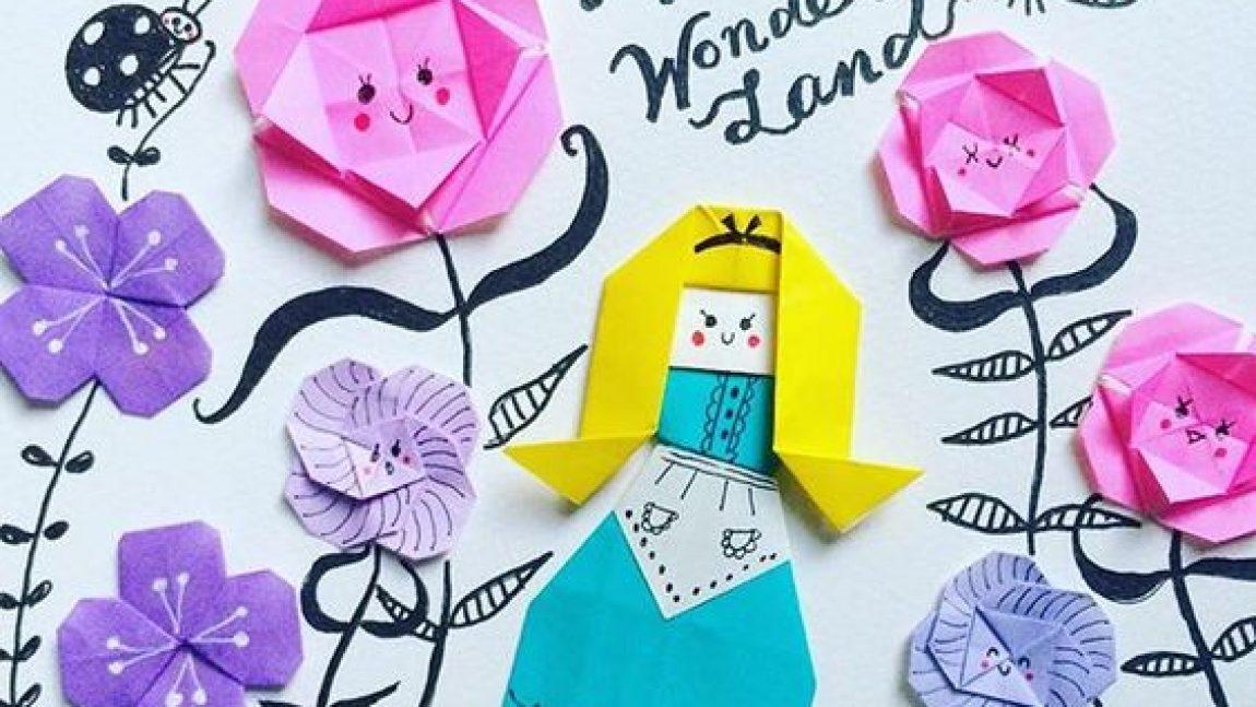 Картины с оригами