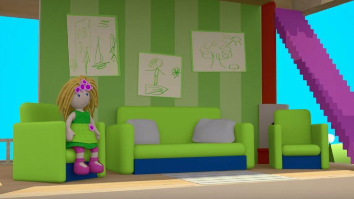 Бьянка приглашает в гостиную «Кукольного домика»