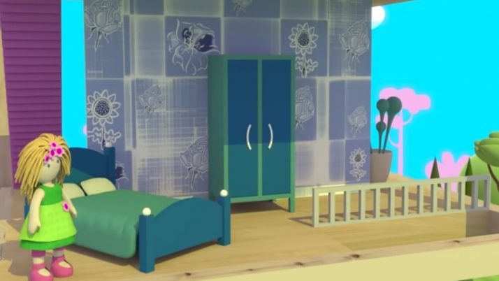 Спальня куклы Бьянки