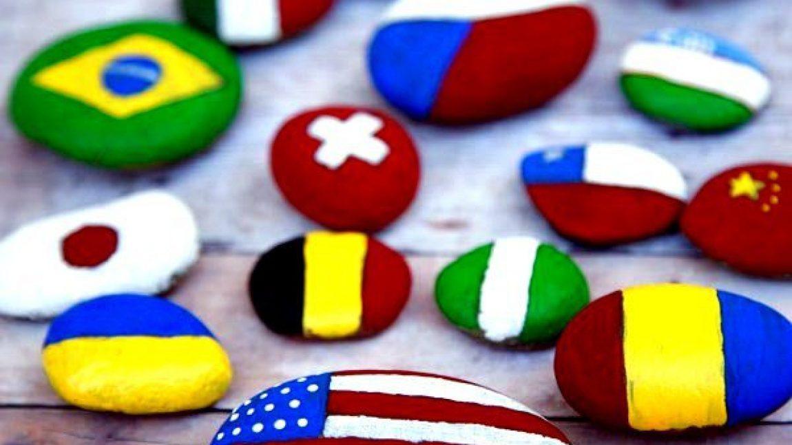 Учим флаги разных стран
