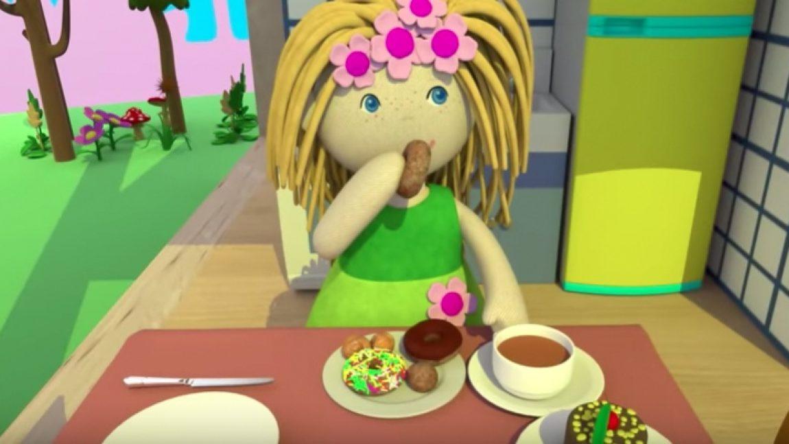 Кукла Бьянка покажет свою кухню