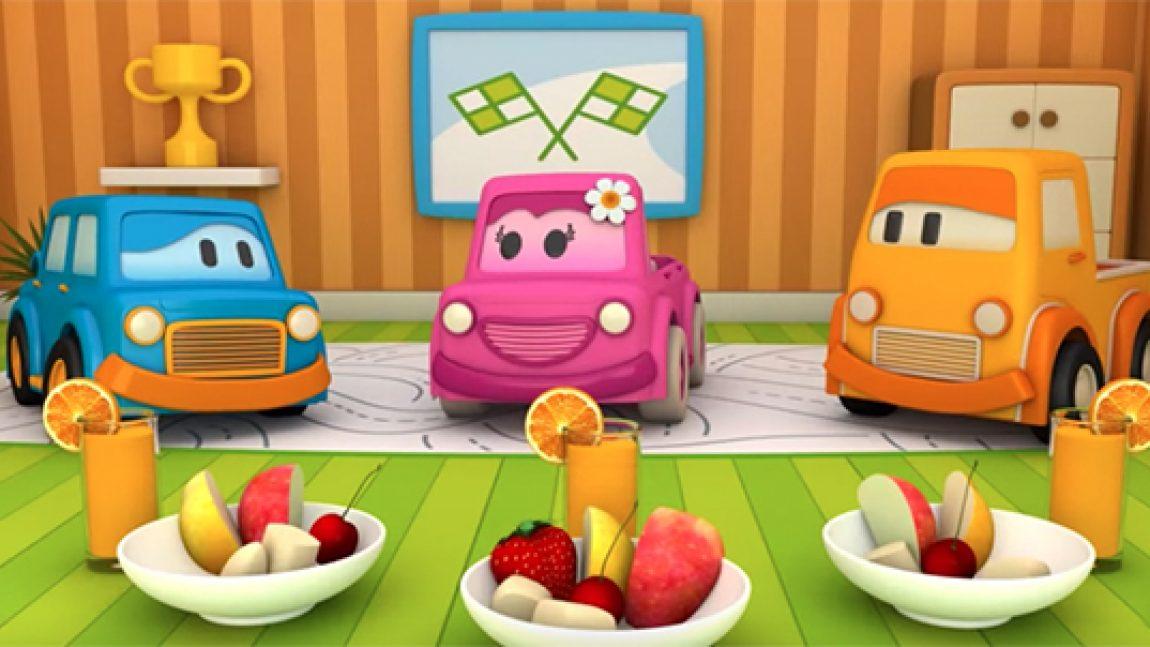 Умные машинки расскажут про фрукты