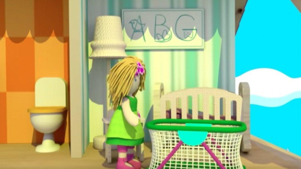 Детская в кукольном домике