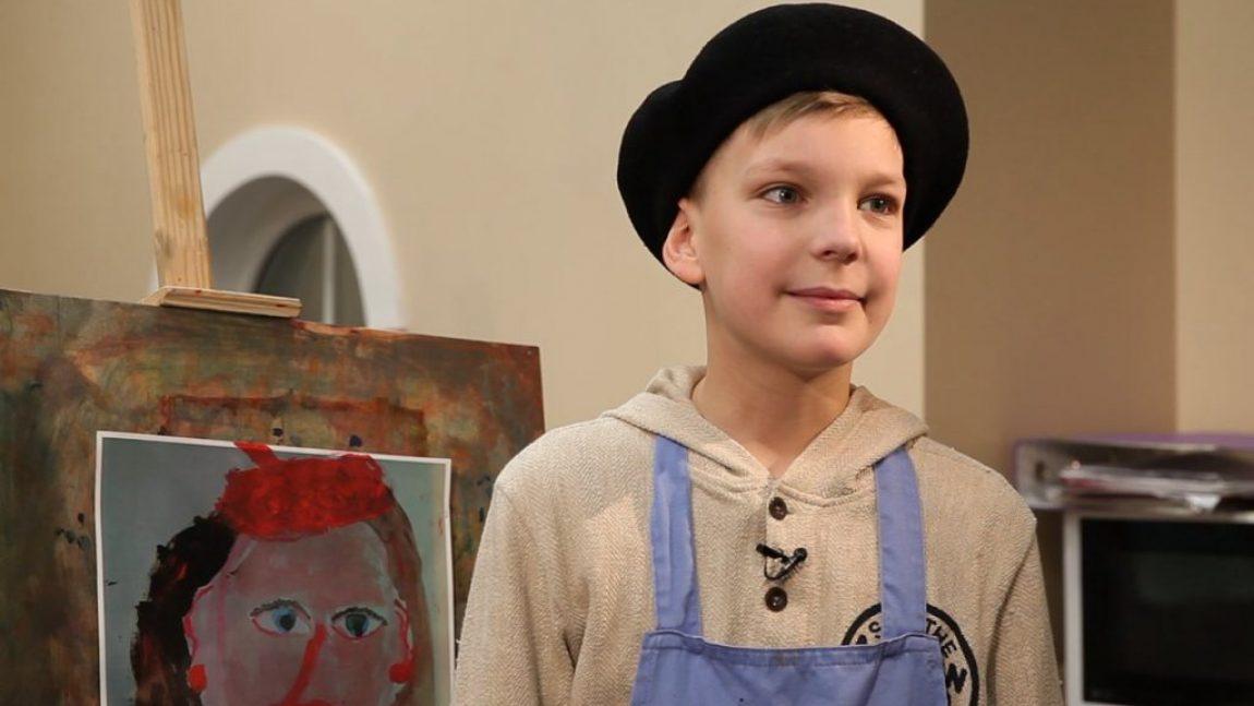 Смотрите на телеканале «Смайлик»: профессия – художник