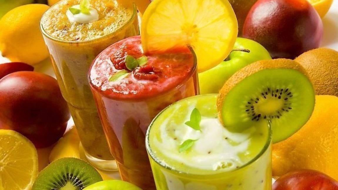 Готовим фруктовый смузи