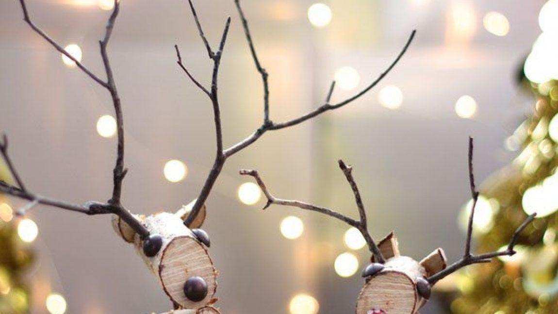 Новогодний оленёнок своими руками